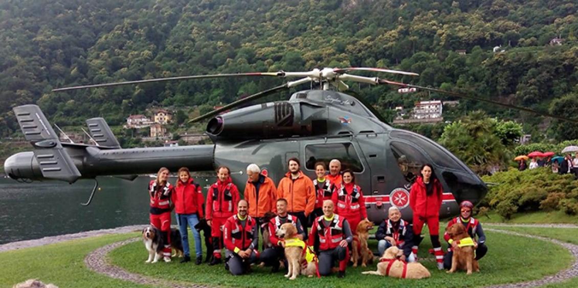 Giana Helicopter servizio eliambulanza